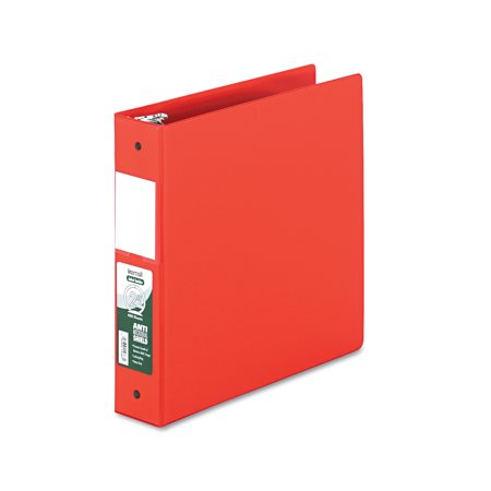 Touch Antimicrobial - Samsill Clean Touch Locking Round Ring Reference Binder, Antimicrobial, 2