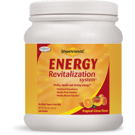 Enzymatic Therapy Energy Drink Mix revitalisation système, Citrus