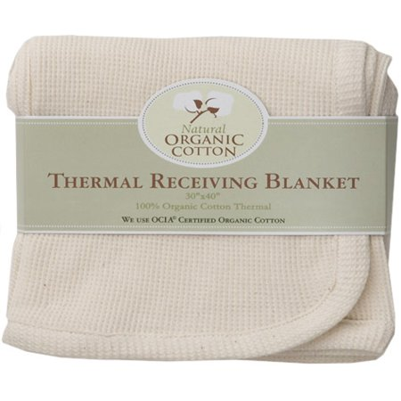 TL Care® Natural Organic Cotton Thermal Swaddle Blanket