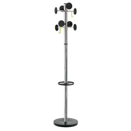 - Alba Coat Rack with Large Capacity Umbrella Holder