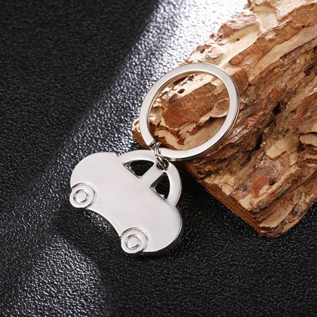 babydream1 Mini Classic Car Keychain Pendant Keychain Metal Vehicle Keyring Key Holders Decor Accessory - image 2 of 8