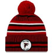 Atlanta Falcons New Era Youth 2019 NFL Sideline Home Reverse Sport Knit Hat - Red - OSFA