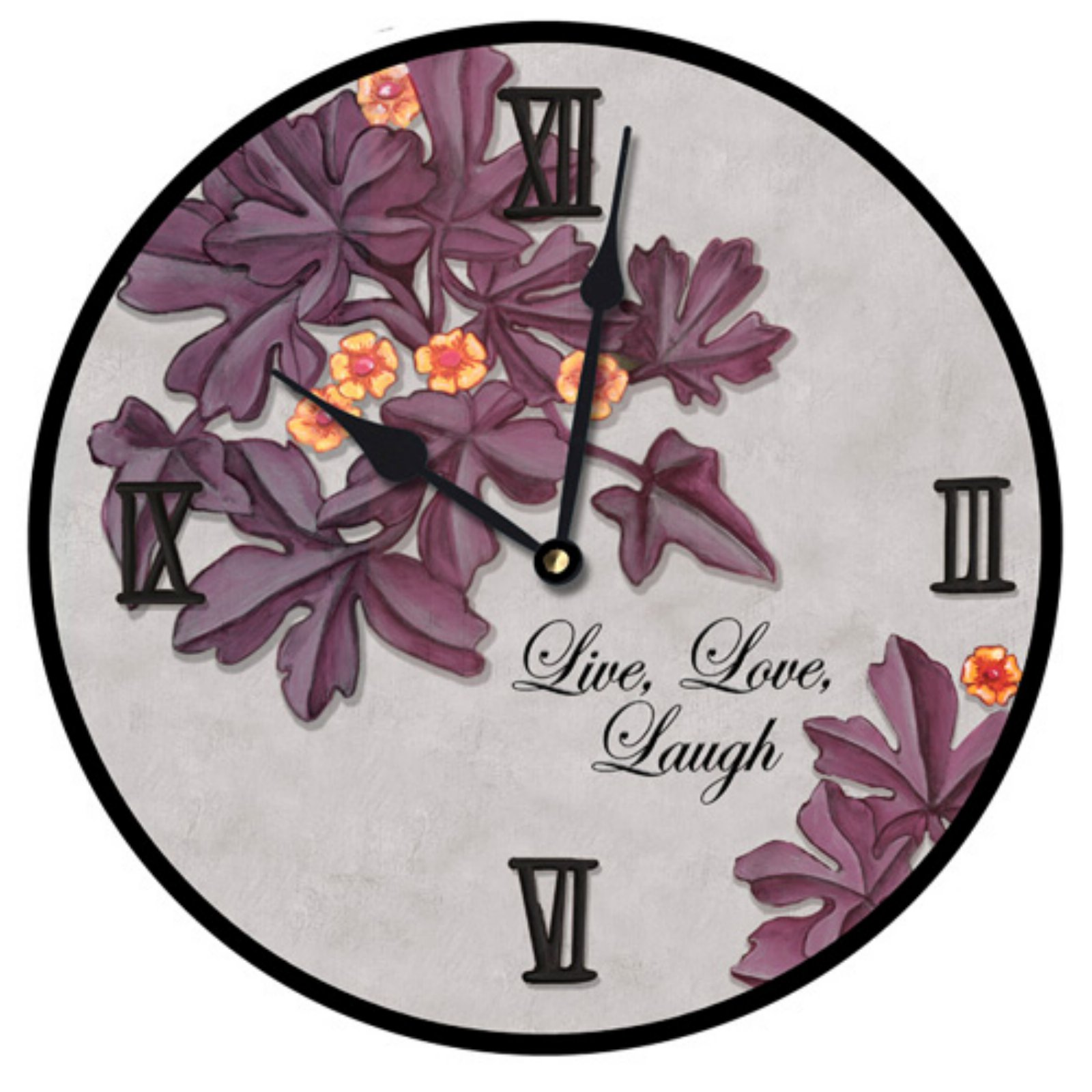 Lexington Studios Live Love Laugh Wall Clock