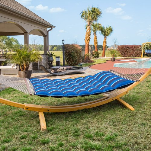 Freeport Park Gloria Pillowtop Sunbrella Tree Hammock