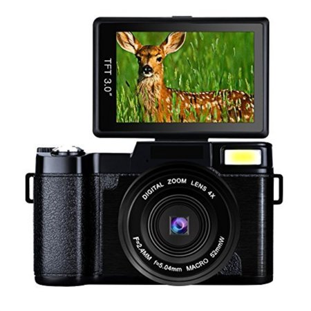 Digital Camera Camcorder Full HD Digital Video Camera 1080p 24.0MP Retractable Flash Light 3†Screen Video