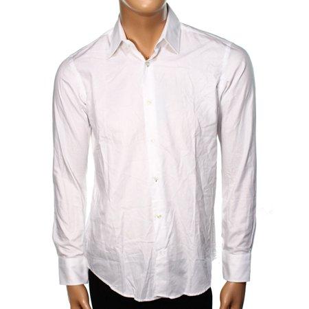 Hugo boss new white mens 16 regular fit button down dress for Hugo boss dress shirt review