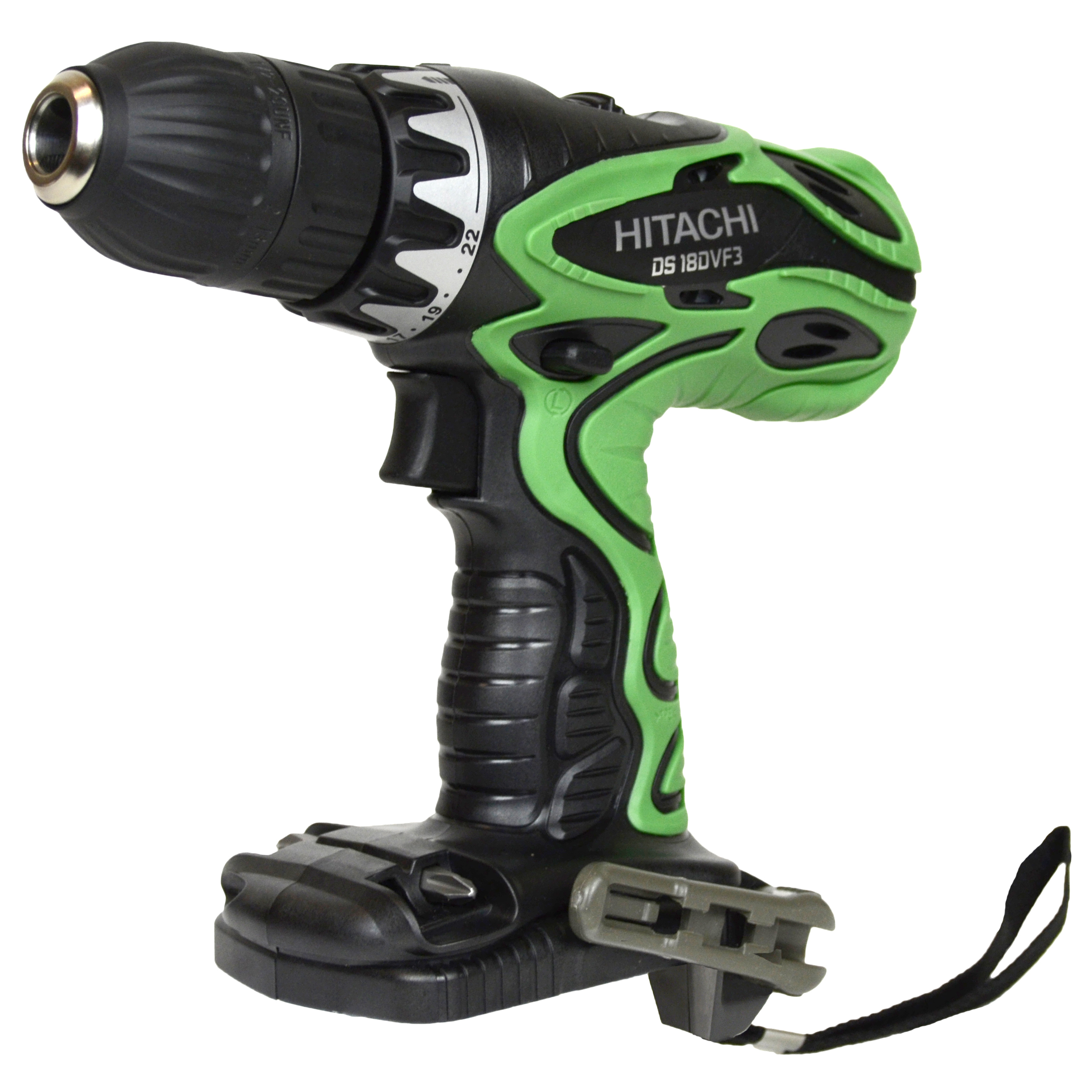 "Hitachi Power Tools DS18DVF3 18V NiCd 1/2"" Cordless Drill Driver, Bare Tool"