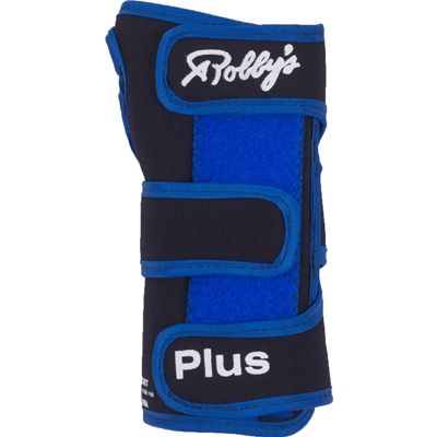 Robby's Cool Max Plus Right Hand Bowling Wrist Support, Blue, X-Large