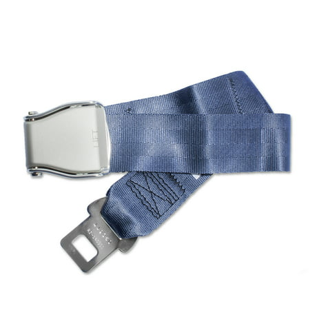 FAA Compliant Universal Type A Airplane Seat Belt Extender with Carrying Case and Owner's Card