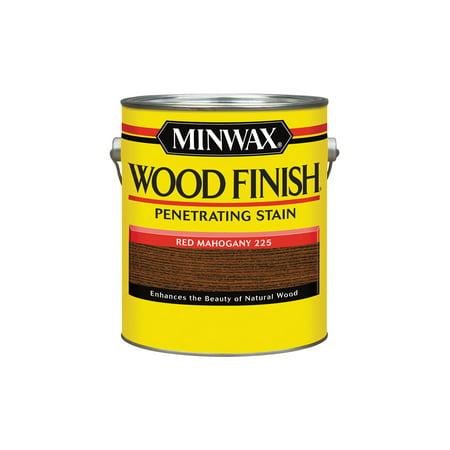 - Minwax® Wood Finish™ Red Mahogany, 1-Gal