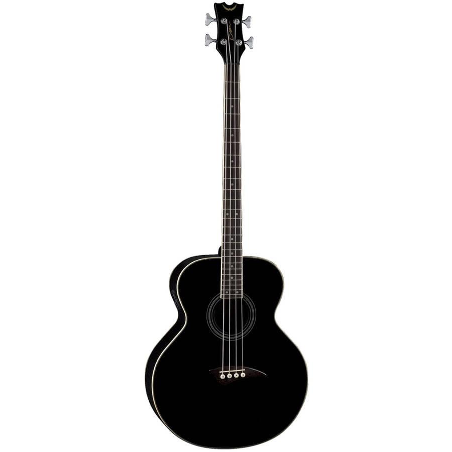 Dean Acoustic Electric Bass, Classic Black by Dean