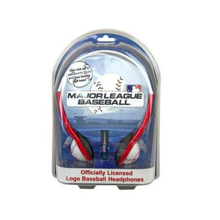 Kole Imports EN608-6 Boston Red Sox Mlb Baseball Cap Headphones - Case of 6 - image 1 de 1