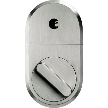 August Smart Lock + Connect, Satin Nickel