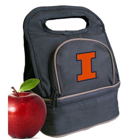 Illini Lunch (Illini Lunch Bags University of Illinois Lunch Box Cooler with Two)
