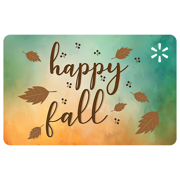 Happy Fall Walmart eGift Card