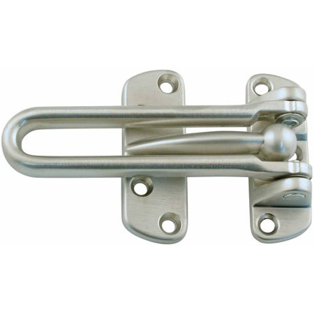 Ultra Satin Nickel Swing Bar Door Guard