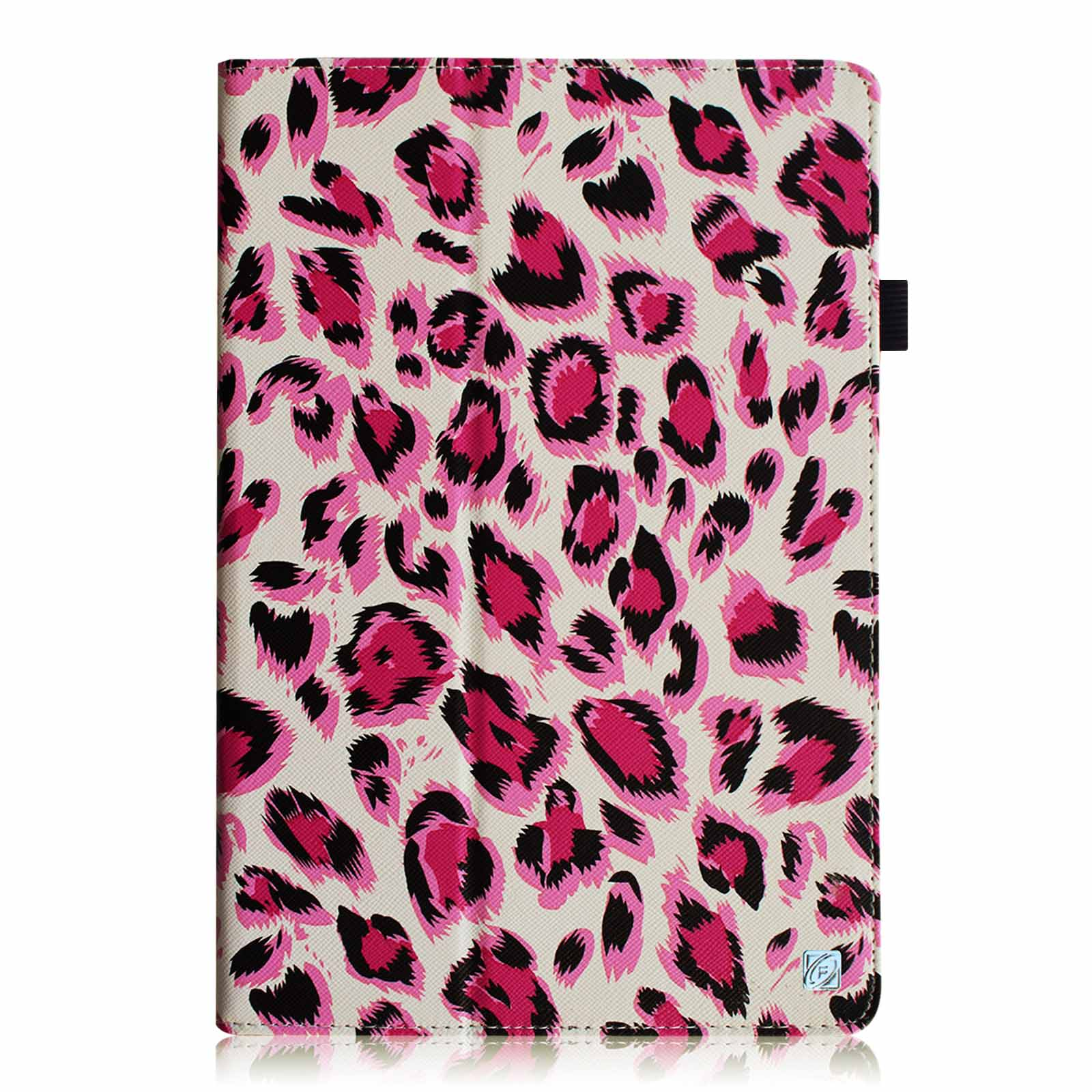 Fintie LG G PAD 8 3 Model V500/V510 (Wifi Version) & VK810 (Verizon 4G LTE)  Case PU Leather Stand Cover, Leopard Pink