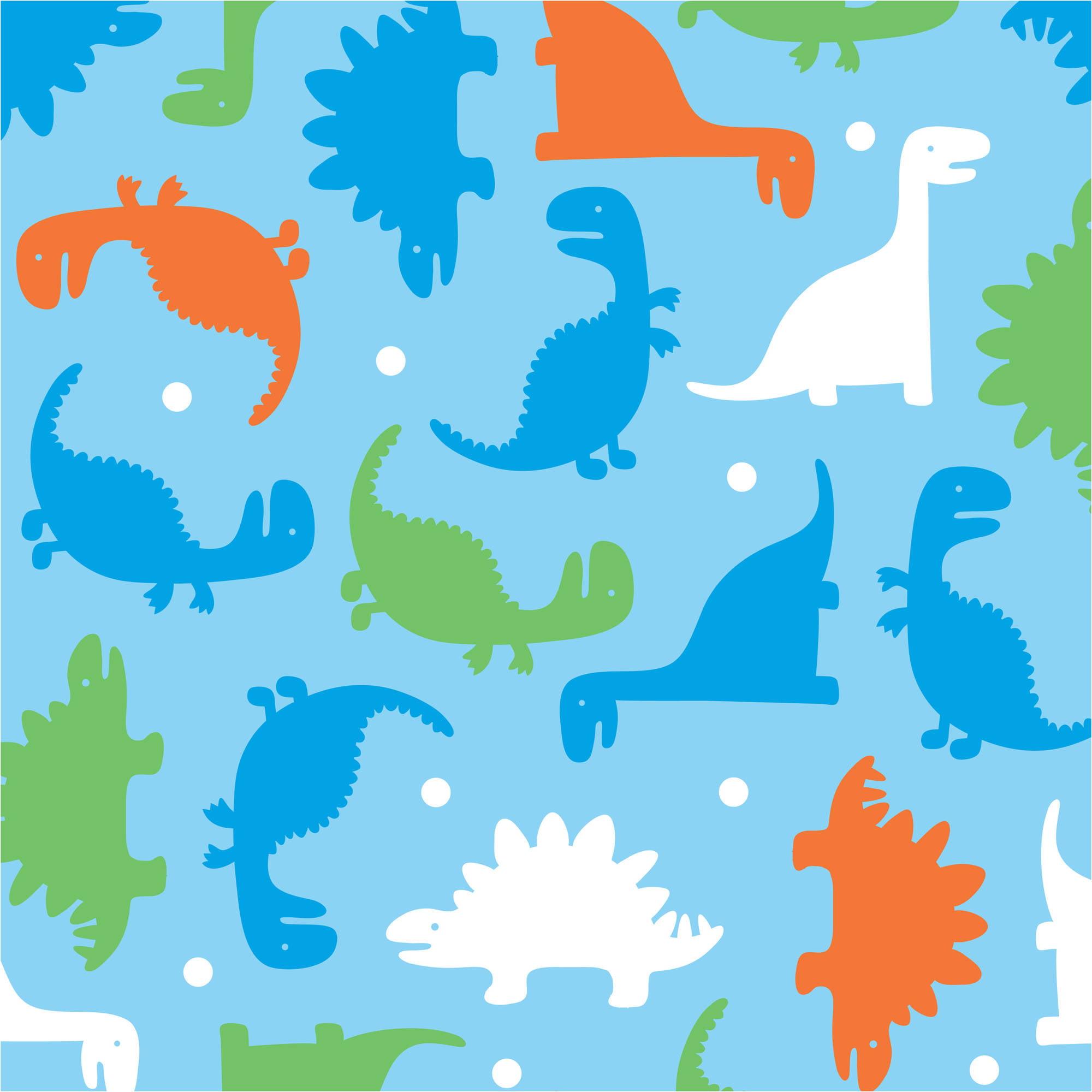 "David Textiles Fun Dinos 60"" Antipill Fleece Fabric By The Yard"