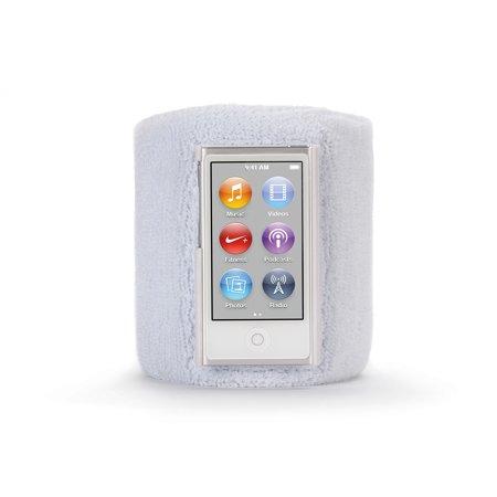 Griffin White Sportcuff Wristband Case For Ipod Nano  7Th Gen    Absorbent Wristband For Ipod Nano  7Th Gen