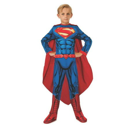 Photo Real Superman Kids Costume](Kid Superman Costume)