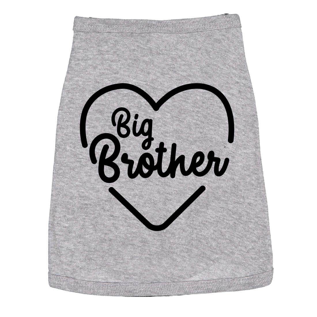 Dog Shirt Big Brother Cute Clothes For Family Pet