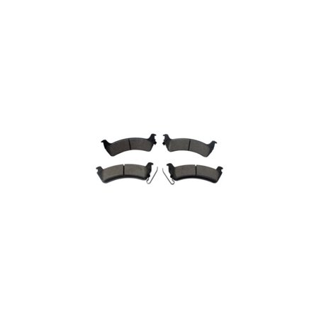 Grand Rear Brake Pads (Centric 102.06660 Brake Pad Set For 1993-1998 Jeep Grand Cherokee - Rear Driver And Passenger)
