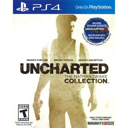 Naughty Dog Inc. Uncharted: The Nathan Drake Collection, Sony, PlayStation 4,