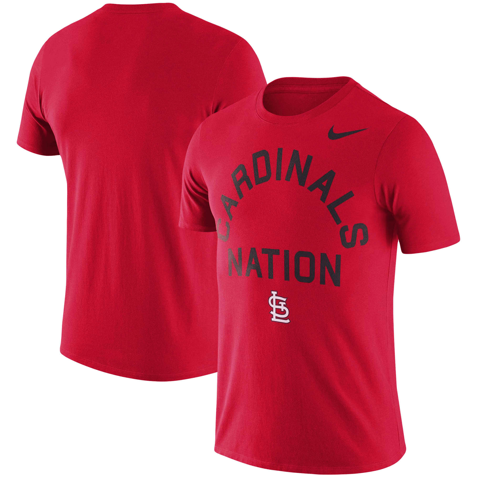 St. Louis Cardinals Nike MLB Nation Local Phrase T-Shirt - Red