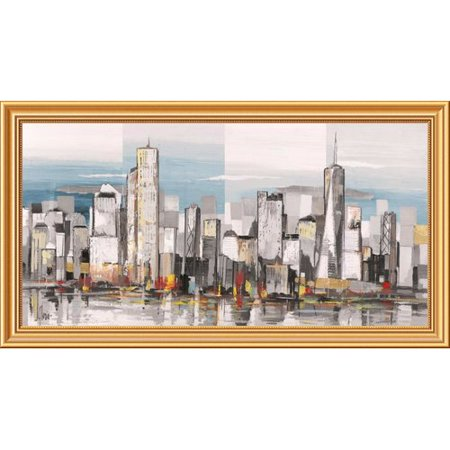 Global Gallery Metropolis Ii By Luigi Florio Framed Painting Print On Canvas