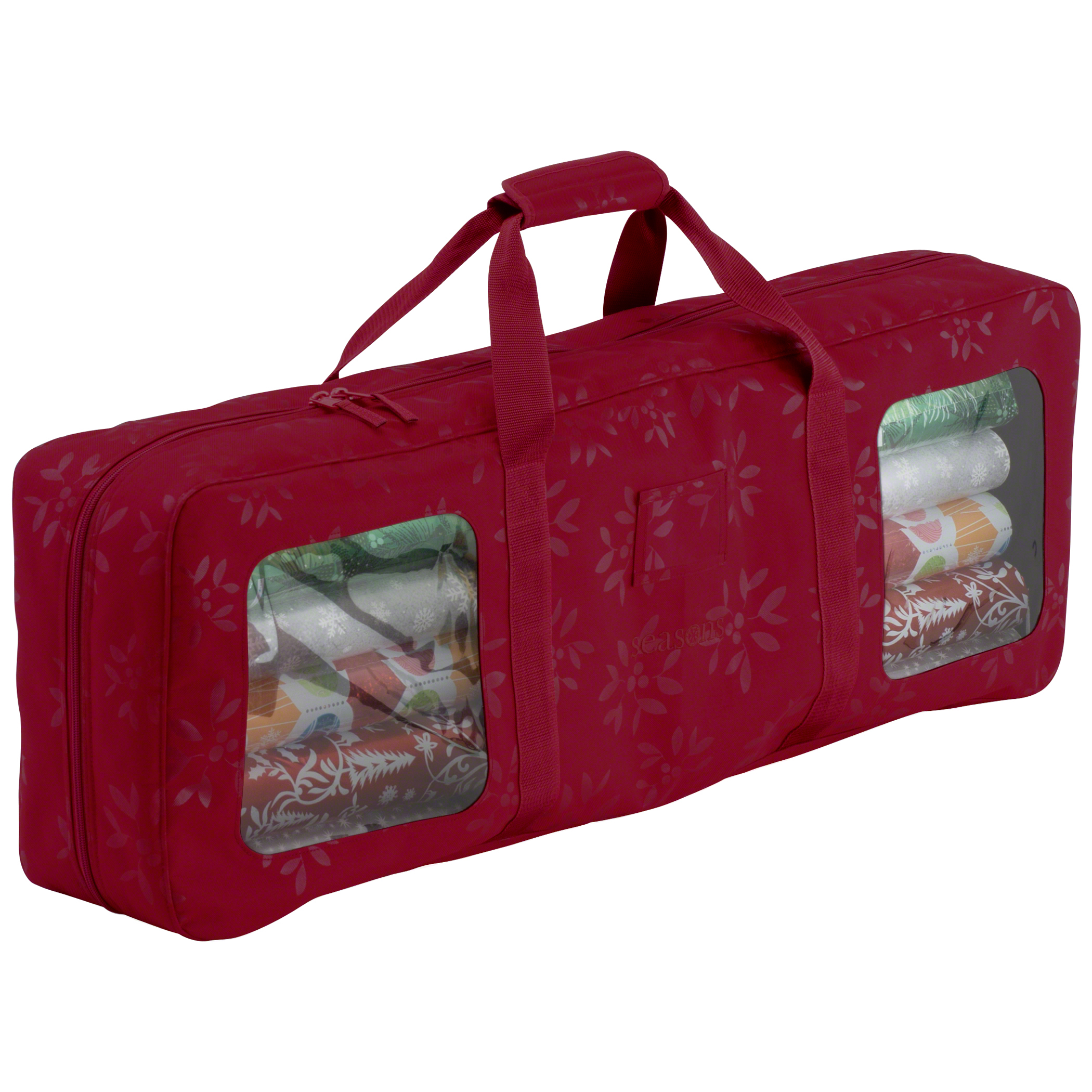 Classic Accessories Seasons Wrapping Supplies Organizer & Storage Duffel - Heavy-Duty Holiday Storage