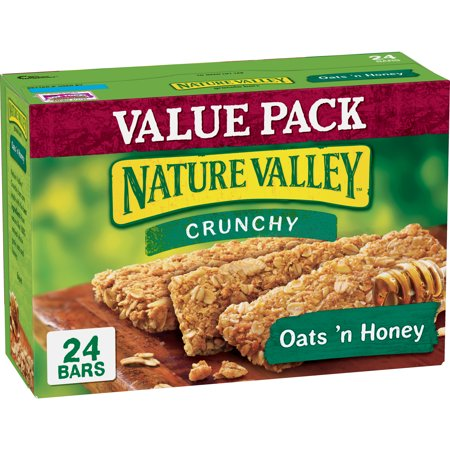 (Nature Valley Granola Bars Crunchy Oats 'n Honey 24 Bars)