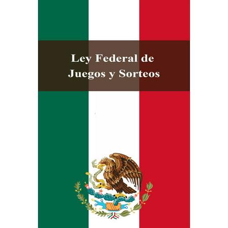 Ley Federal de Juegos y Sorteos - eBook](Juegos De Halloween Y Terror)