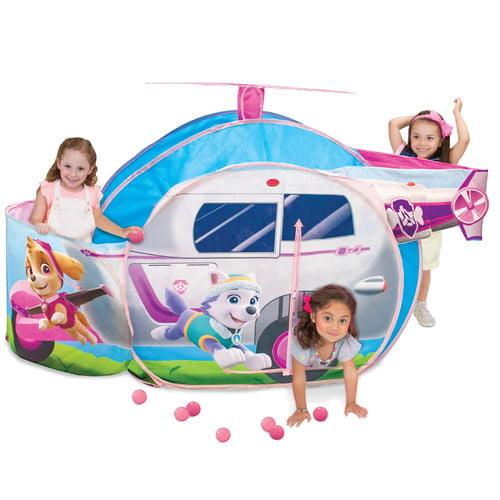 Playhut Paw Patrol Skye High Flyin' Copter Vehicle Play Tent