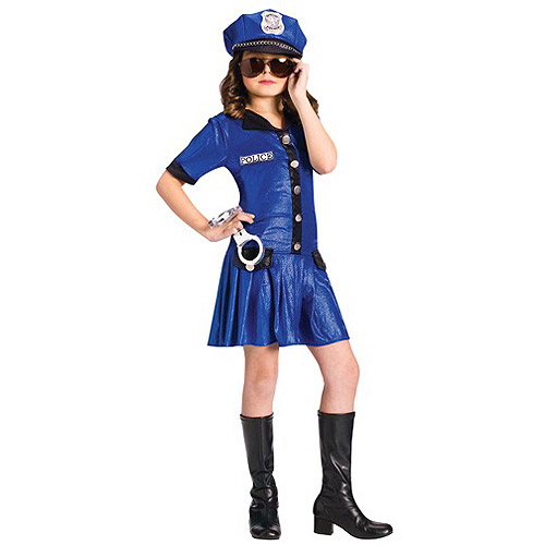 Fun World Police Chief Child Halloween Costume