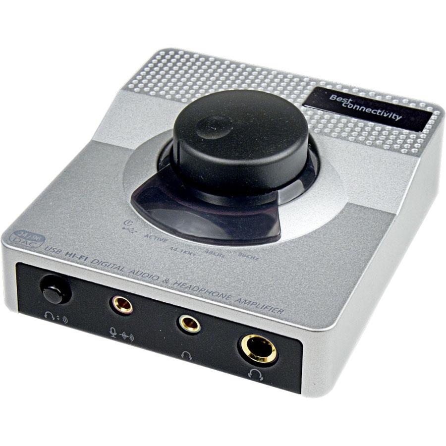 Syba SD-DAC63057 Hi-Fi Usb Audio Dac,24-Bit / 96-Khz Usb