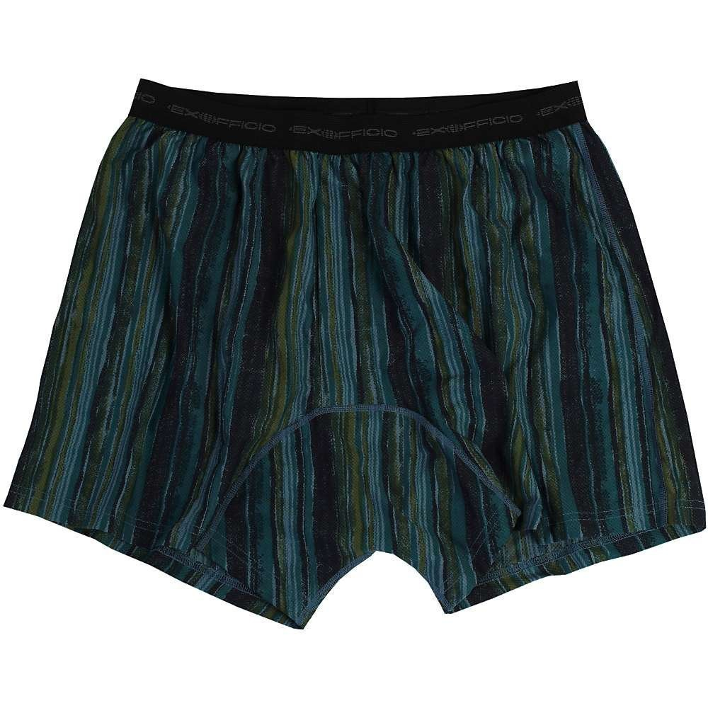 ExOfficio Give-N-Go Printed Boxer - Mens Watercolor / Fie...