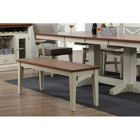 Prime Ophelia Co Hayden Dining 2 Tone Bench Ibusinesslaw Wood Chair Design Ideas Ibusinesslaworg