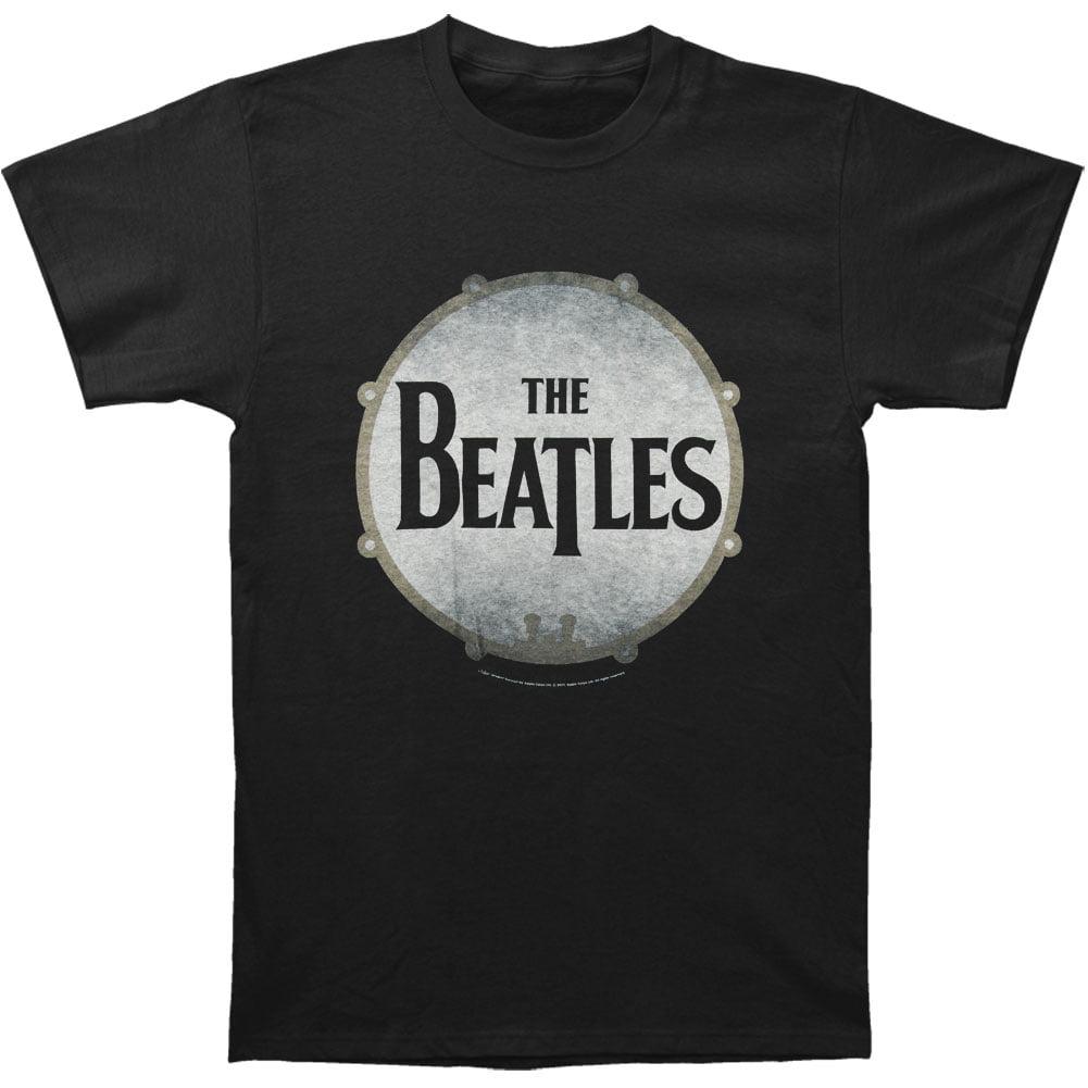 Beatles Men's Drumskin Vintage T-shirt Vintage by
