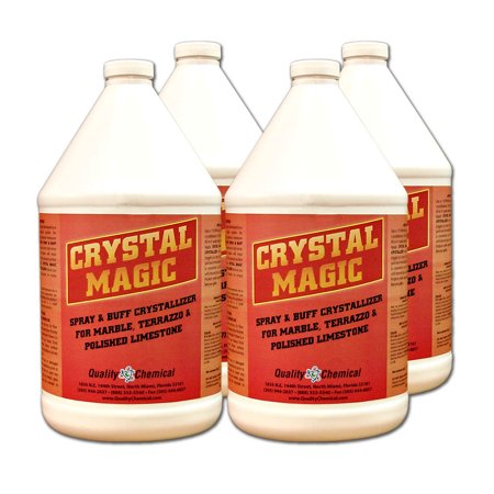 Crystal Magic Marble Polish & Crystallizer - 4 gallon (Best Cleaner For Marble Shower Floors)
