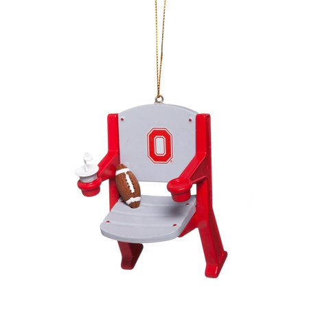 Ohio State University Stadium Chair Christmas Ornament