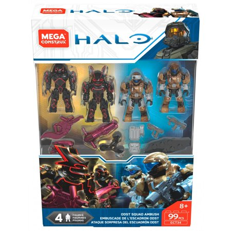 Mega Construx Halo ODSTs vs. Brutes Pack (Halo Odst Shirt)