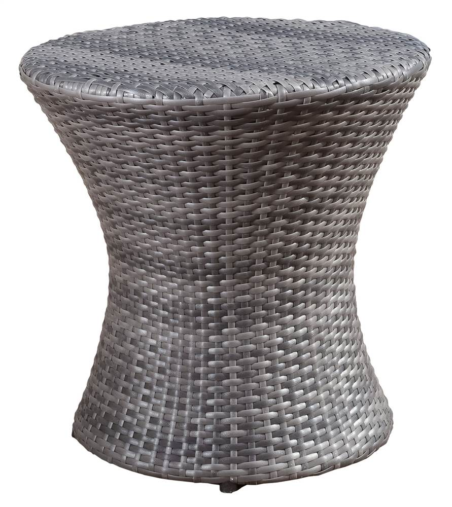FillmoreWicker Outdoor Grey Accent table