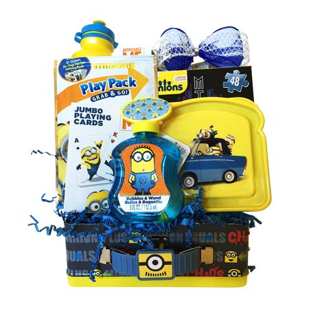 Minions easter gifts for kids amazing easter gift baskets for boys minions easter gifts for kids amazing easter gift baskets for boys and girls 3 negle Choice Image