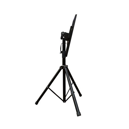 DURAMEX (TM) Universal Mobile Portable Tripod TV Stand with Mount for 32 - 55 inch LED, LCD, Plasma, and Curved Displays up to 110 lbs - image 2 of 6