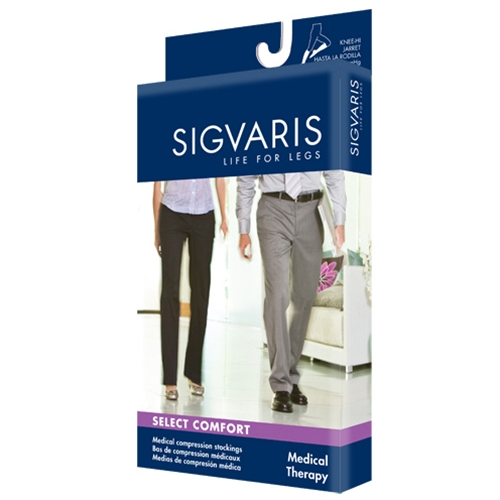 Image of Sigvaris Select Comfort OT Knee Highs 20-30mmHg