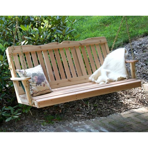 Creekvine Designs Countryside Cedar Porch Swing