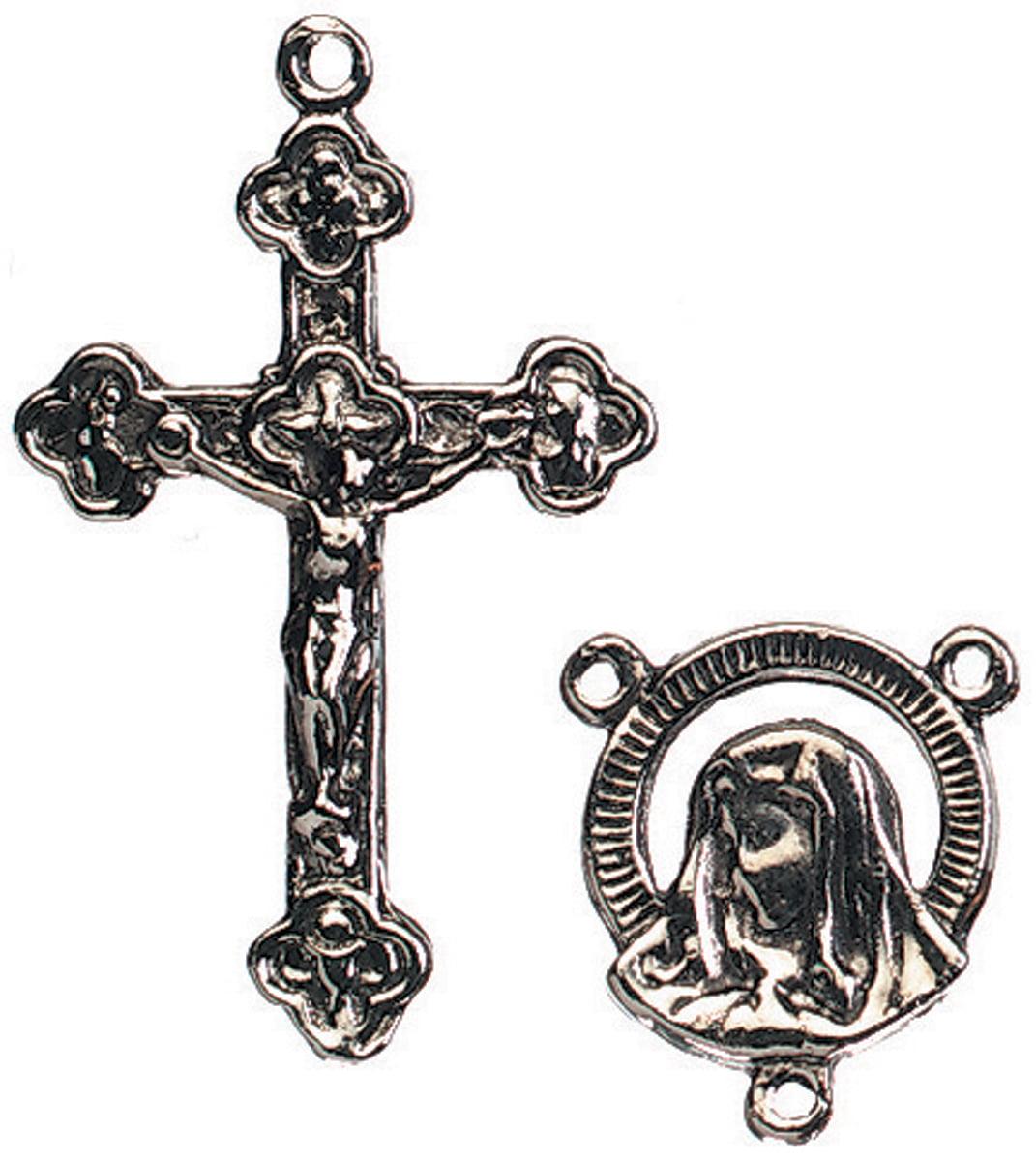 Darice Rosary Metal Charms, 2pk