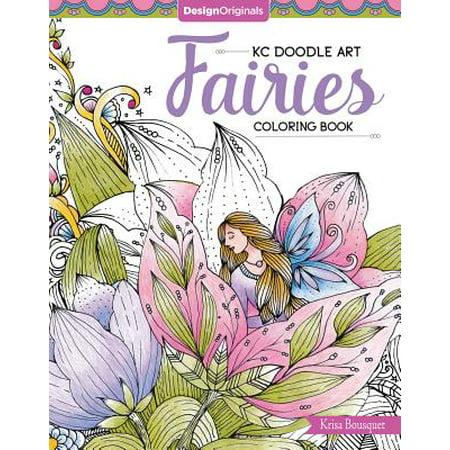 Kc Doodle Art Fairies Coloring Book ()