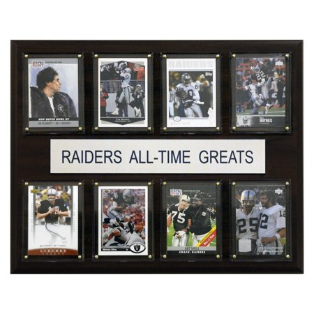 C&I Collectables NFL 12x15 Oakland Raiders All-Time Greats Plaque