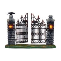 Cross Product Halloween -  SPOOKY WROUGHT IRON GATE